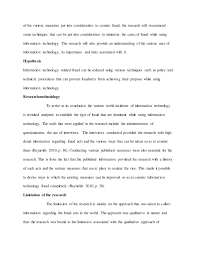 information technology essay sample through the knowledge 5 of