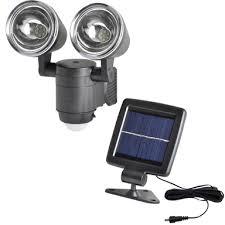 Click Dual Head <b>Motion Sensor LED Solar</b> Security Light | Bunnings ...