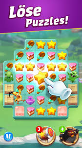 Angry Birds Match 3 für Android - APK herunterladen