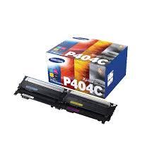 samsung xpress c480fw. samsung p404c rainbow toner pack, pack of 4 - clt-p404c/els xpress c480fw
