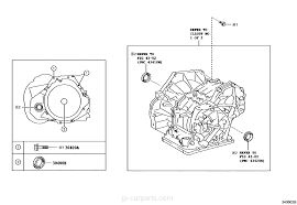 TRANSAXLE ASSY(CVT) / toyota | part list|JP-CarParts.com