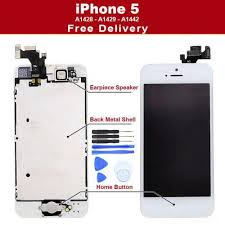 Home 5 Iphone Digitizer Screen Lcd Camera Button Speaker 1wRxCq8pPx