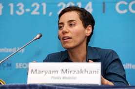 snowflakes and unicorns marina ratner and maryam mirzakhani maryam mirzakhani in 2014 the year she won the fields medal credit seoul icm 2014 via agence presse getty images