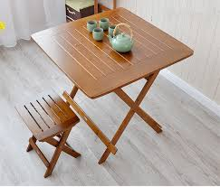 foldable dining table buy online. aliexpress.com : buy bamboo furniture dining table square 80cm outdoor/indoor garden legs foldable portable folding wood from online