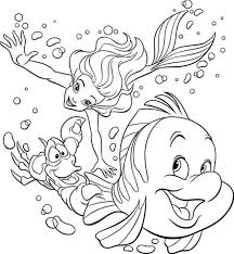 Free Mermaid Coloring Pages Inspirational New Printable Adult