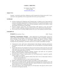 Successful Resume Template For College Student Internships With