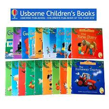 set of 20 books usborne farmyard tales story books first experience children pre