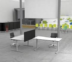 office cube design. Flow Sit/Stand Desk By Cube Design | Table Dividers Office