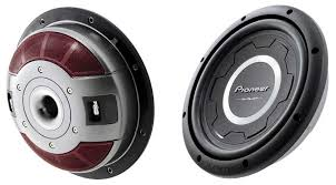 pioneer speakers subwoofer. this 12-inch shallow subwoofer handles 1500 watts. click to enlarge. pioneer speakers
