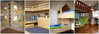 cool bunk beds for 4. 4-Spacious Bunk Beds For Children Cool 4 B