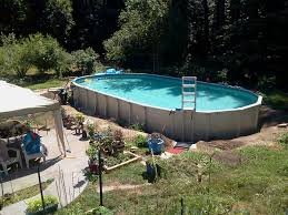 intex oval above ground pools. Unique Oval Intex Oval Pool And Above Ground Pools A