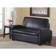 mainstays 54 loveseat sleeper black regarding lovable loveseat sleeper sofa bed for your