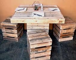 diy pallet outdoor dinning table. pallet dining set diy room tablepallet outdoor dinning table