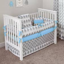 outstanding grey baby bedding sets 23 elephant for nursery