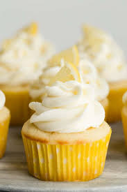 Lemon Cupcakes With Lemon Frosting Baked By An Introvert