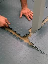 flooring installation eco 4 interlocking studded rubber tiles