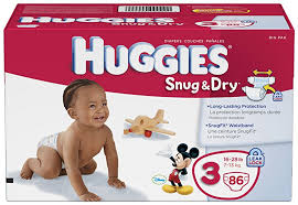 Huggies Snug And Dry Diapers Size 3 86 Count Baby