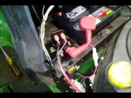 a solenoid on a la125 john deere mower