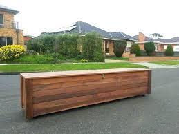 outdoor patio storage bench modern adorable boxes with box regard to cushion all weather