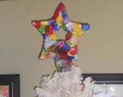 Christmas Arts And Crafts For Kids Christmas Art Crafts For Kids Paper Mache Star Tree Topper