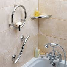 Best Bath Decor bathroom grab rails : Spa chrome grab rails | Enable Magazine | The UK's favourite ...