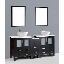 bathroom vanities vessel sinks sets. Contemporary 72 Inch Dark Espresso Double Vessel Sink Bathroom Vanity Set With Mirror Vanities Sinks Sets I