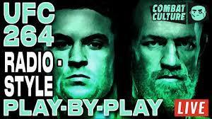 UFC 264 Live Stream | McGregor vs. Poirier 3 | Radio-Style PPV Main Card  Commentary - YouTube