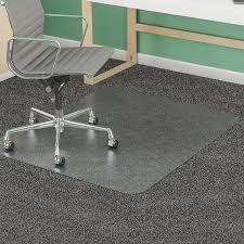 chair mat for tile floor. Deflecto SuperMat Medium Pile Chairmat DEFCM14243 Chair Mat For Tile Floor
