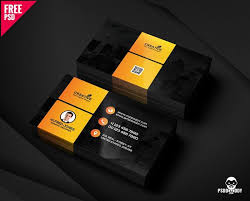 Free Psd Business Card Templates Graphic Designer Business Card Free Psd Psddaddy Com
