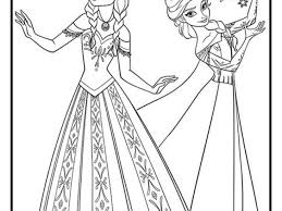 Elsa Kleurplaat Concept Kleurplaat Frozen Kleurplaatfrozen Auf Pinterest