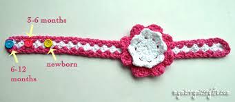 17 Specific Crochet Baby Headband Sizes