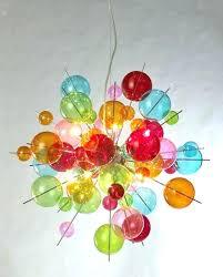 funky chandeliers