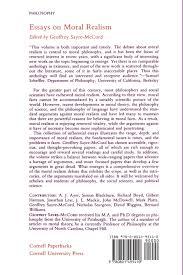 essays on moral realism cornell paperbacks amazon co uk  essays on moral realism cornell paperbacks amazon co uk geoffrey sayre mccord 9780801495410 books