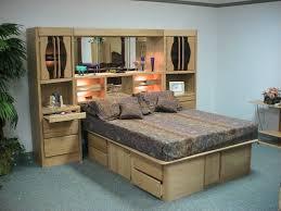 bedroom wall unit headboard. Bedroom Wall Unit Headboard Headboards King Queen Size With Furniture Light Bridge Amp Mirror Set Plans O