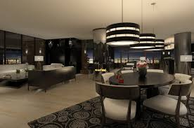 interior home lighting. Modern Apartment Interior At Night Home Lighting