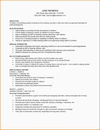 Babysitting On Resume Babysitting Skills Resume Ninjaturtletechrepairsco 16