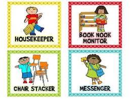 Free Preschool Classroom Job Chart Pictures Classroom Jobs Free And Editable Preschool Job Chart