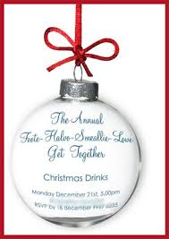 wording for christmas party invitations