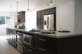 Mocha Shaker Kitchen Cabinets Cabinets In Fullerton