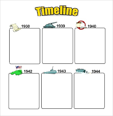 Blank Timeline Template Delectable Kids Blank Timeline Template Free Graphic Organizer Azserver