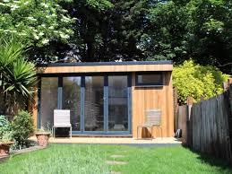 garden studio with bathroom built in west london