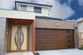 walnut garage doorsInsulated Ribline Garage Doors Manufacturer Melbourne  Sectional