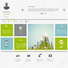 Metro Template Eco Flat Metro Web Design Template