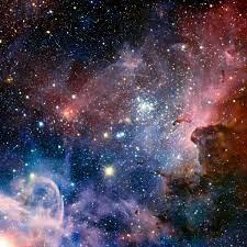 Outer Space Nebula Shiny Starry ...
