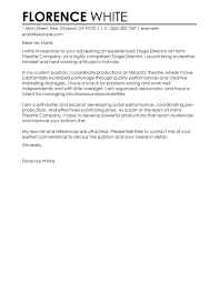theatre internship cover letters internship cover letter 13 samples examples formats within