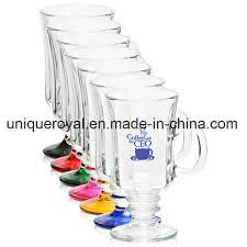 china clear libbey 8 25 oz irish coffee mug with optic china mug promotional mug