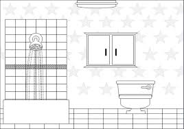 bathroom clipart black and white. Exellent Bathroom Bathroom Clipart Black And White To I