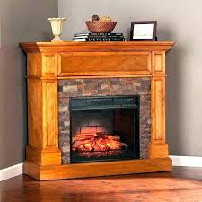 stone look electric fireplace stone look electric fireplace media convertible infrared corner stacked cor capitan electric