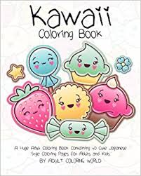 Small Picture Amazoncom Kawaii Coloring Book A Huge Adult Coloring Book