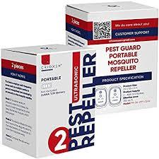 Crioxen Ultrasonic Mosquito Repellent - Odorless ... - Amazon.com